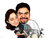 Customers Caricatures
