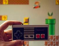 """MURAL """"Super Mario 8 bits"""""""