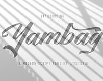 Free Font - Yambag