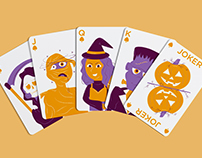 Spooky Stack Playing Cards