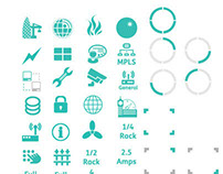 Data Centre Icons