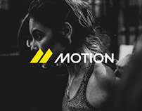 Motion - Sports Supplement | Brand Identity & Packaging