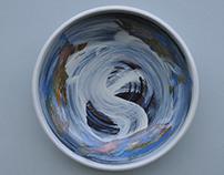 Salmon Series: Stoneware Bowls - 2008