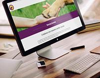 Sitio Web Escuela de Perros Guía Ecuatorianos