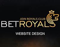 BetRoyals online casino web design
