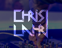 Logo Design for music presenter Chris Lahr