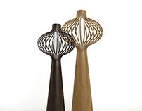 SAMUEL CHAN FLOOR LAMPS