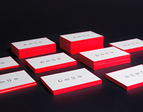 Fluo business cards