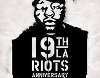19th L.A Riots Anniversary (Stencil & Poster)