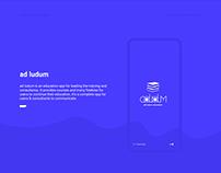 Education App (ad-ludum) - UX/UI Interaction Design