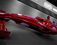 F1 Ferrari - Design practice