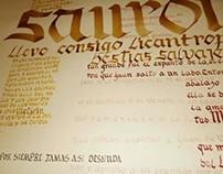 TP Nº1 Caligrafia - Typografia Longinotti I - 2011