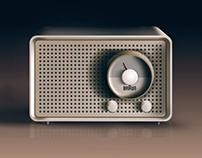 Vector Braun radio
