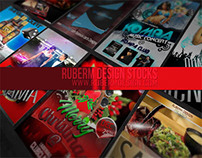 Magazine cover on RuberM- portofolio