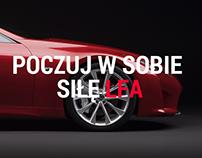 Lexus LFA - Promo page concept