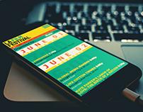 LAFF Mobile Schedule Design