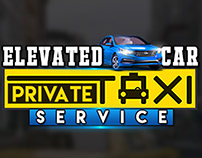 Elevated car private taxi service