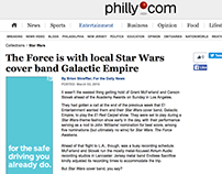 Article On Local Star Wars Cover Band's Oscar Show