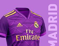 Real Madrid football kit 19/20.