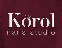 Logo for nails studio