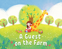 Children's Book: A Guest on the Farm