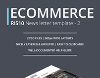 Ecommerce Newsletter Template - v2