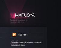 Marusya Bar & Restaurant Blog