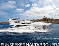 Sunseeker Airport Adverts