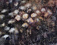 Sülem / Armful, 130 x 130 cm on canvas, 2017
