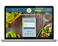 Health website