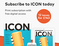 ICON magazine promotions