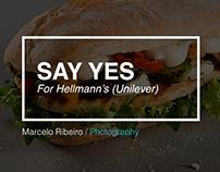 Say yes (Hellmann's/Unilever)