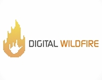 Digital Wildfire_logo design