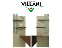 Salumi Villani, espositore per supermercati