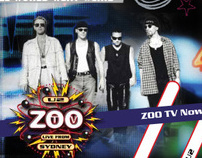 U2 ZOO TV DVD Microsite
