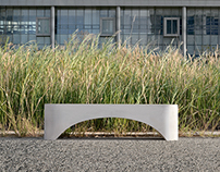 ARCH CONCRETE BENCH