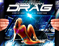 Downtown Drag flyer