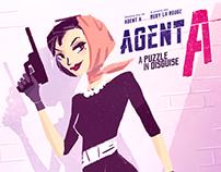 Agent A - game design & illustration