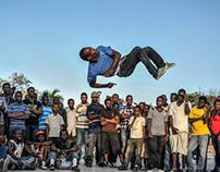 Street Dance à Port au Prince, Haiti