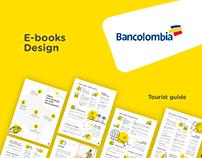 Bancolombia E-Books Design / 2018