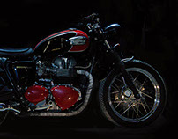 "Triumph Bonneville ""Red"""