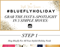 Bluefly Holiday E-mail Blast