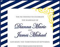 Invitation / RSVP / Save the Date designs