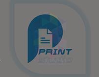 Logo and Brand Design for Print Studio (PLetter)
