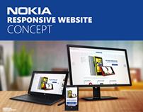 Nokia responsive website concept