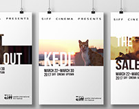 SIFF Movie Poster Trilogy