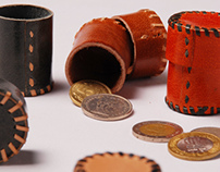 Coinboxes & Office Accessories- Jawaja Leather Craft