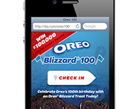 The Dairy Queen OREO Blizzard 100