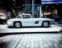 Mercedes, Brooklands on an iphone 4s
