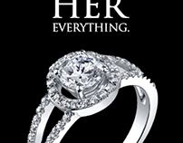 Neil Lane Engagement Rings Ad Campaign